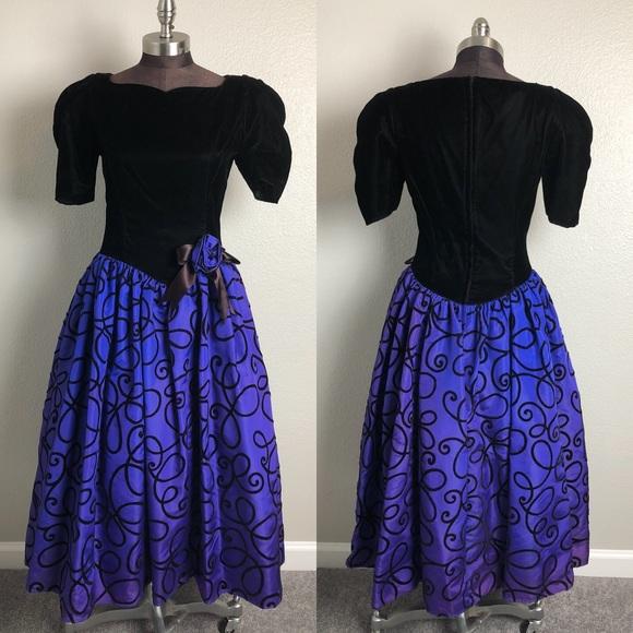 Jessica McClintock Dresses | Vintage Gunne Sax Jess Mcclintock 80s ...